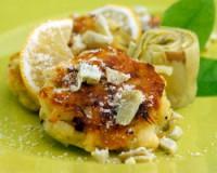 Artichoke Jalapeno Potato Cakes