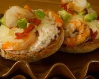 Cream Cheesey Shrimp Muffin