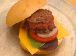 Seafood Cheese Baby Burgers