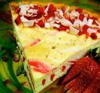 SeafoodQuicheandStrawberries