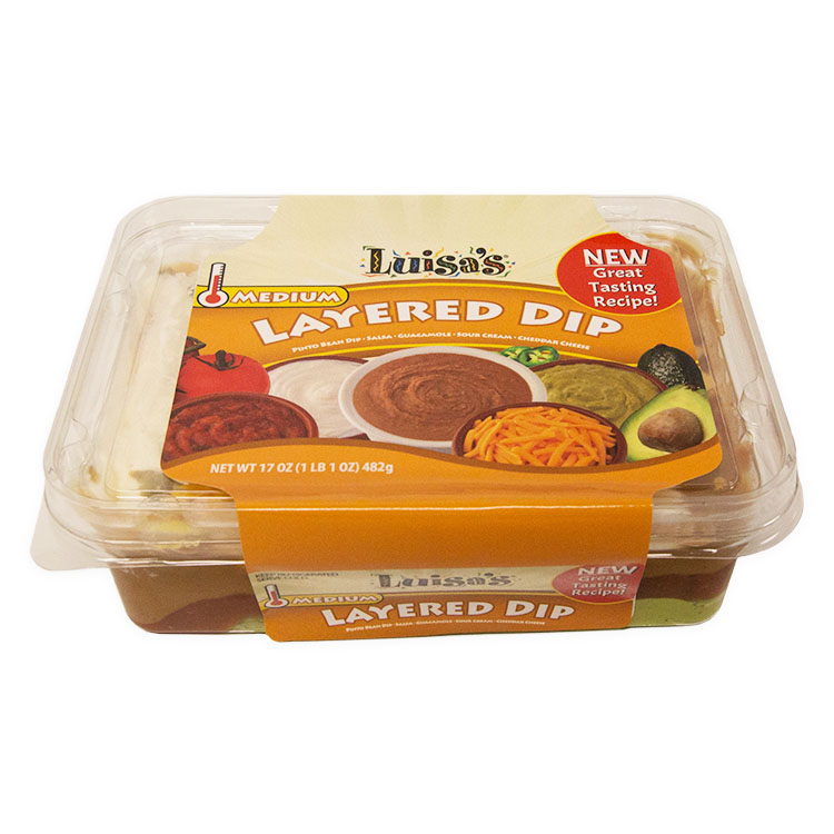 Luisa's Layered Fiesta Dip - Medium 17oz