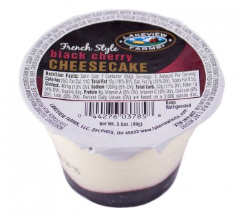 Lakeview Farms Black Cherry Cheesecake 3.5oz