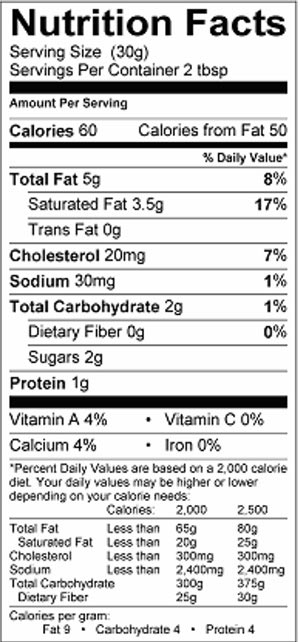 LVF-SourCream-16oz-nutri
