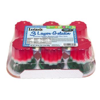 003960-Luisa's-3 Layer Gelatin-6pk4.75oz