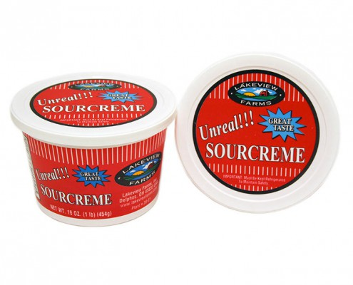 Lakeview Farms Unreal Sour Cream - 16oz