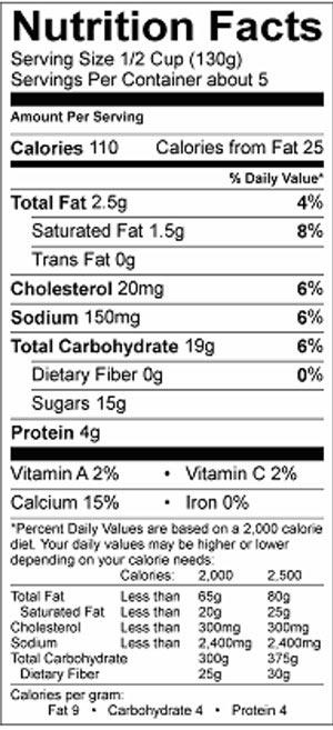 Winky Rice Pudding 22oz Nutri