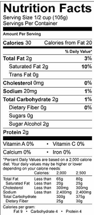 Lakeview Farms Sugar Free Parfait 12.5oz nutri