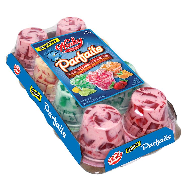 Winky Sugar Free Parfaits 8 Pack 35oz