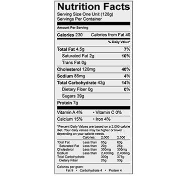 Microsoft Word - 10-1381 senor rico baked caramel flan 10-24-16.