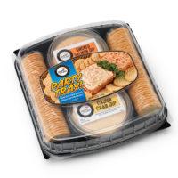 7242 Party Tray - SOT Smoked Salmon & Cajun Crab Dip