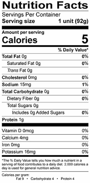 34 Jello Pudding Nutrition Label Labels Database 2020