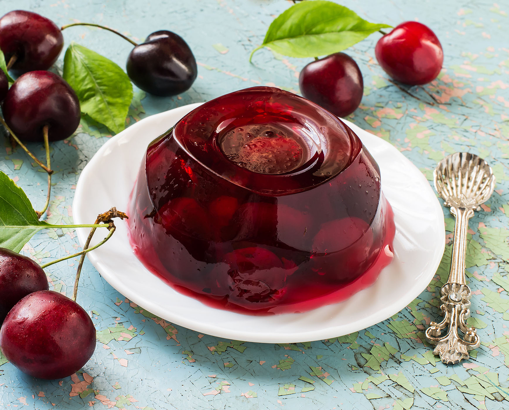Fresh Cherries in Sour Cherry Gelatin – Lakeview Farms